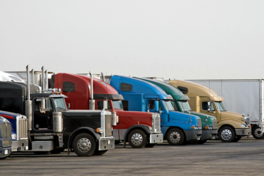 Eight states form partnership to help truckers find parking
