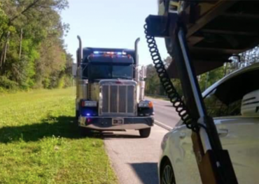 Truckers spot state police rolling in their own big rig