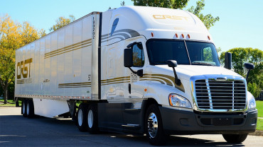 Start or continue your career with CRST trucking company