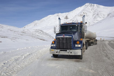 The best way of trucking on ice roads