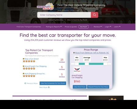 TransportReviews Reviews